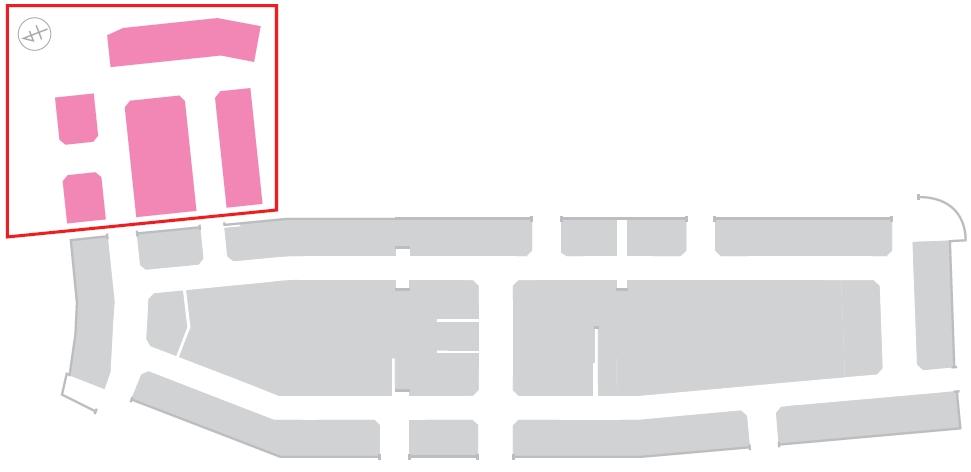 第3期増設エリア施設内位置図