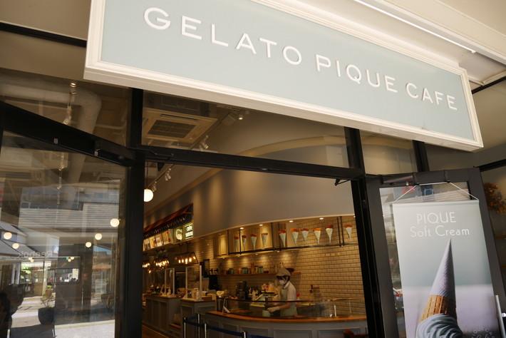 gelato pique cafe creperie(ジェラートピケ カフェ クレープリー)