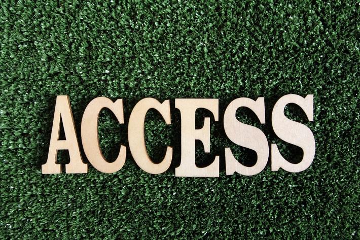 アクセスの文字