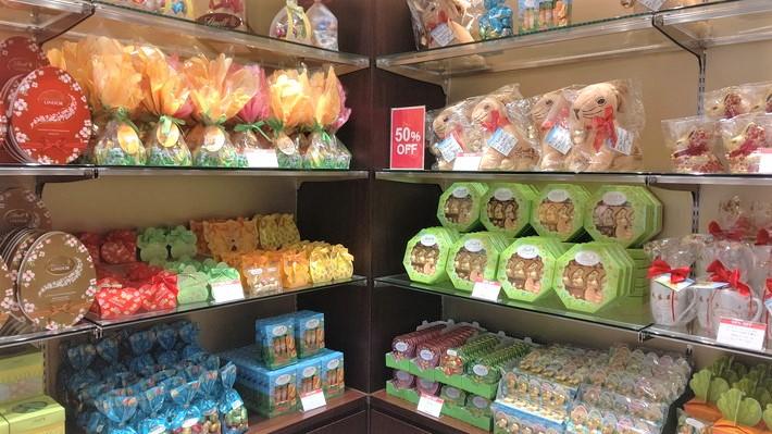 Lindt-Chocolat-Café店内