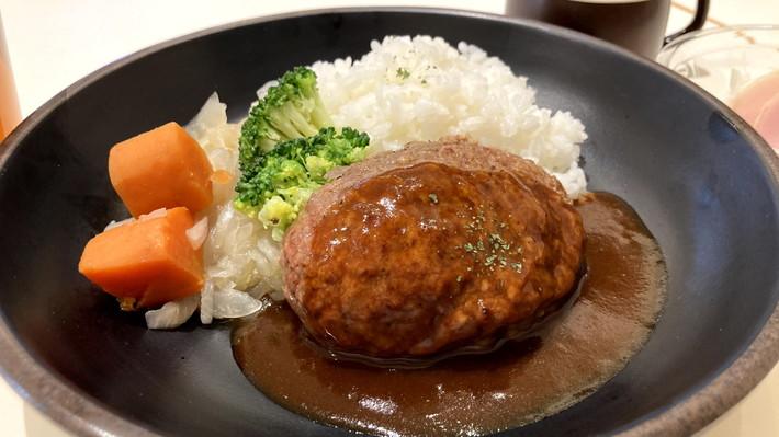 三田屋本店 -やすらぎの郷-_ハンバーグ