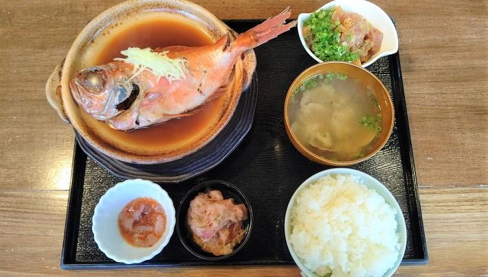 KiSARA_金目鯛の煮付定食