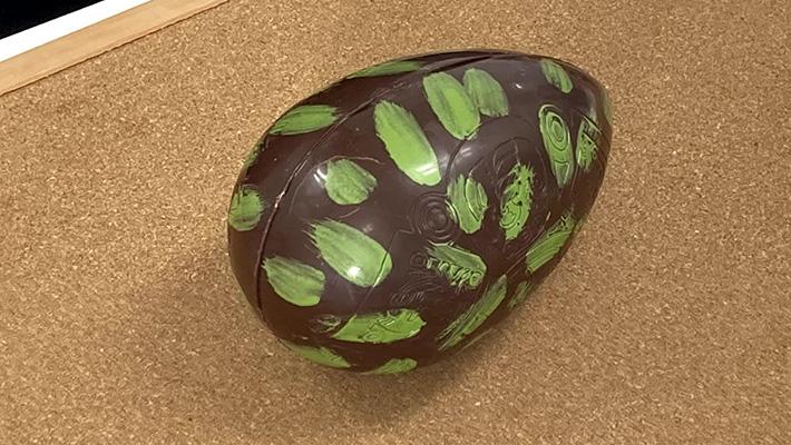恐竜のタマゴ_チョコレート