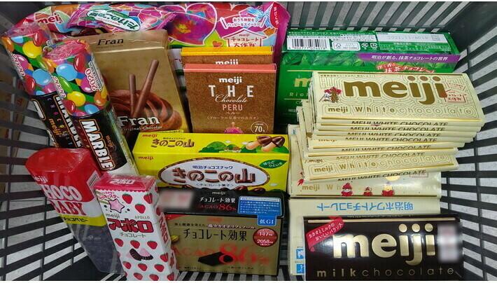 チョコレート菓子材料