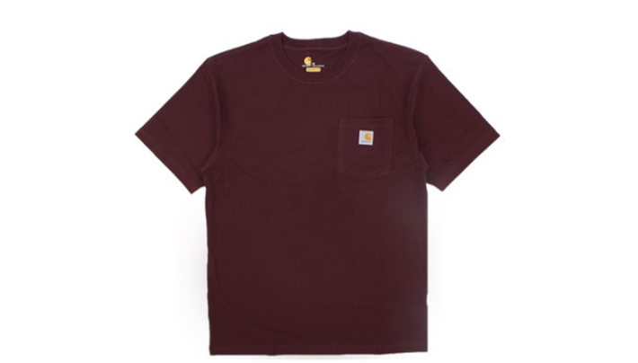 カーハートK87/ショートスリーブ ポケットTシャツ