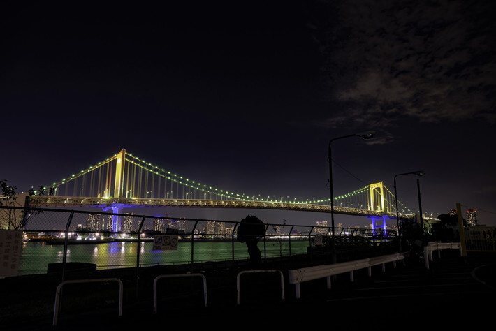 品川埠頭 夜景