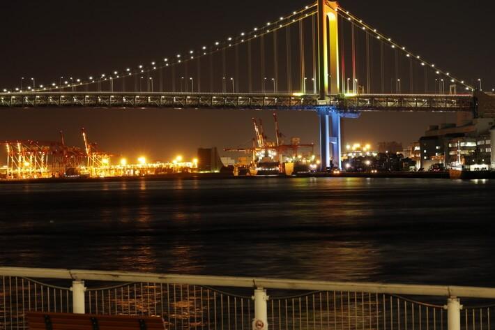 竹芝桟橋 夜景