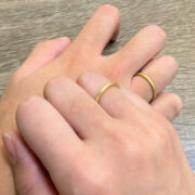 今話題の「名もなき指輪」を作ってみた!ペアリングを自宅で手作り!