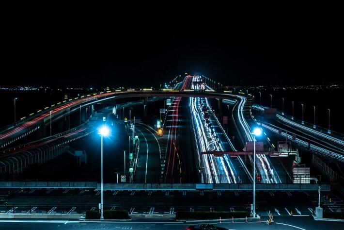 ドライブ夜景