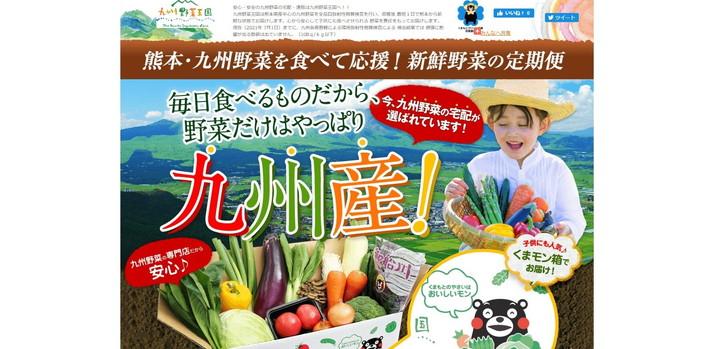 九州野菜王国  トップページ