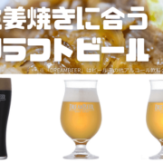 生姜焼きに合うクラフトビールを3種紹介!サーフスポット木崎浜をイメージしたビールや、ずっしりと重みのある芳醇の黒ビールなど